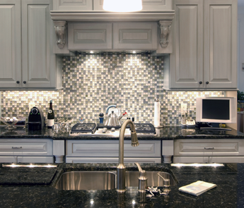 Kitchen With Marietta Glass Tile in Marietta and Roswell, GA