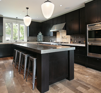 Kitchen With Beautiful Floors in Marietta and Roswell, GA